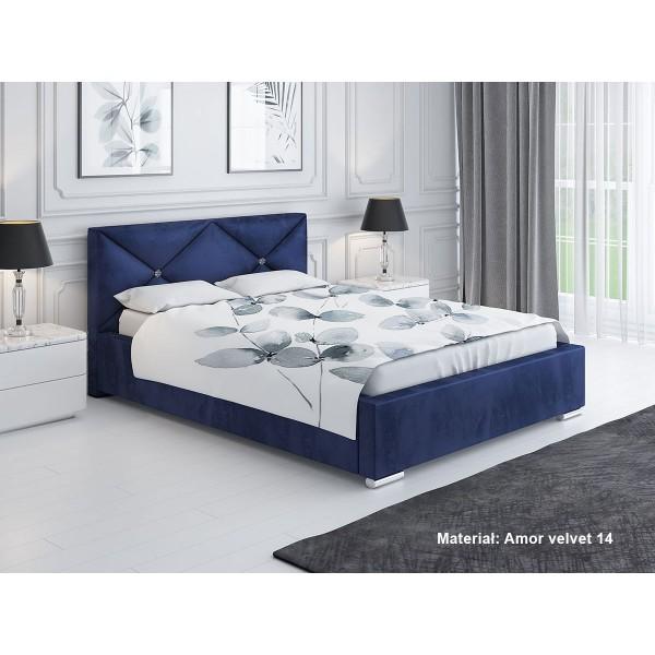 Łóżko tapicerowane LUX 12