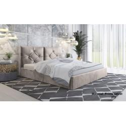 łóżko tapicerowane slim 5